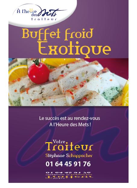 traiteur buffet froid exotique