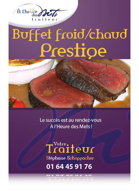 buffet prestige froid chaud traiteur