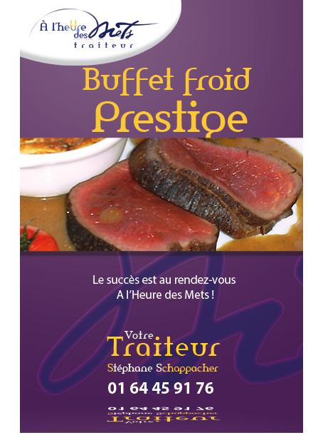 traiteur buffet froid prestige