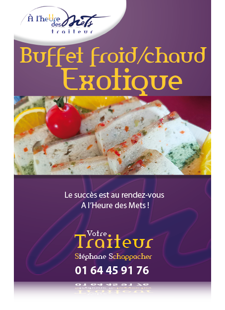 buffet froid chaud exotique