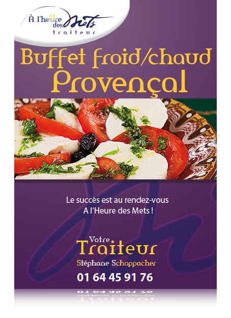 buffet froid chaud provencal