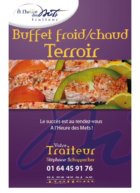 buffet terroir froid et chaud