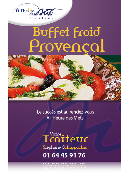 buffet froid provencal