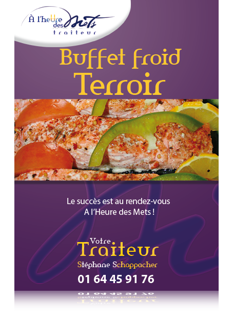 buffet froid terroir