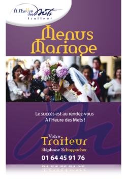 menu mariage traiteur
