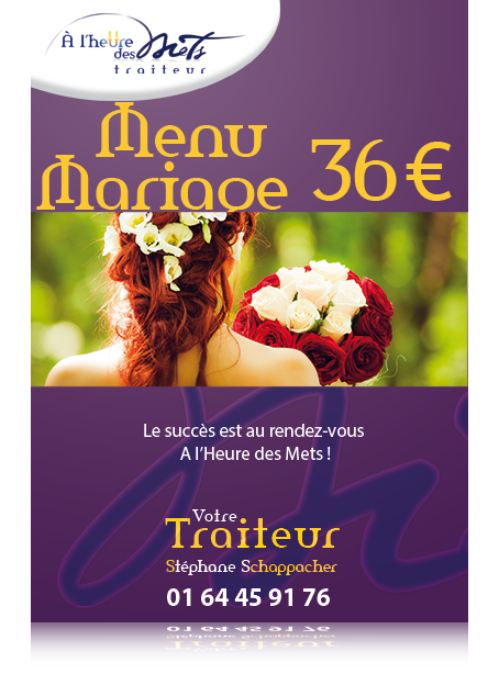 menu mariage 36 euro