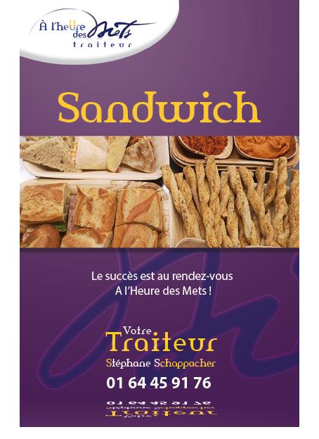 sandwich pour dejeuner entreprise